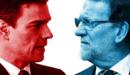La última función con Sánchez y Rajoy como coprotagonistas