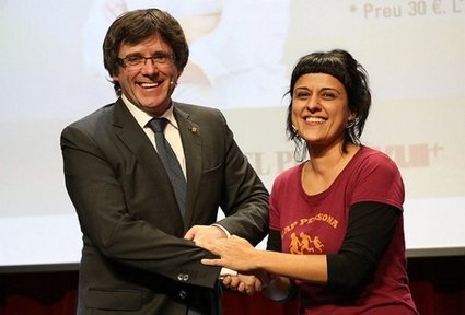 La CUP pide por carta a Puigdemont que proclama la República