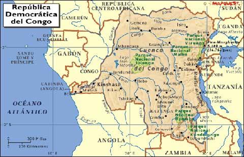 El congo el expolio occidental de un pas internacional diario mapa del congo gumiabroncs Gallery