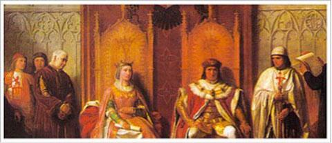 Retrato de los Reyes Católicos