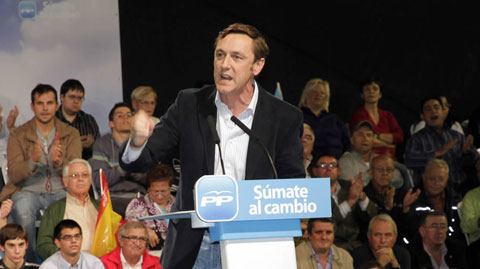 El diputado del PP Rafael Hernando.