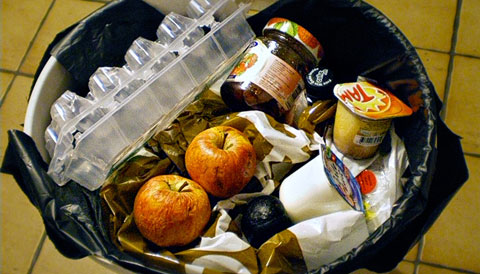 Resultado de imagen de fotos despilfarro alimentos
