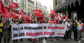 Rechazan la privatización de los registros civiles