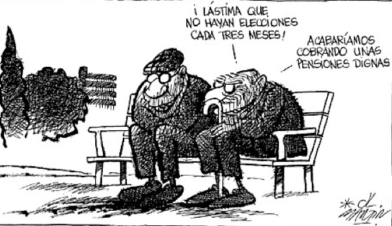 El atraco a las pensiones públicas