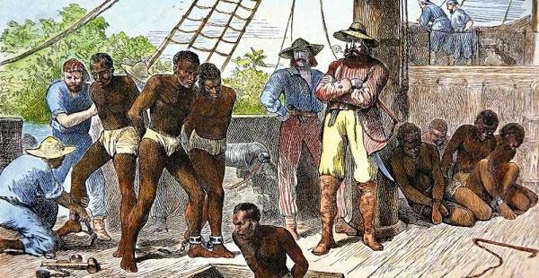 Subasta de esclavos en el mercado gay