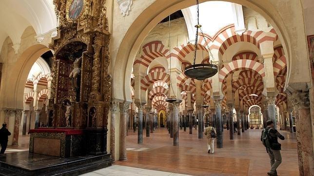 Imagen del interior de la Mezquita de Córdoba.