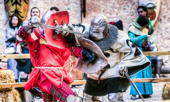 combate-medieval
