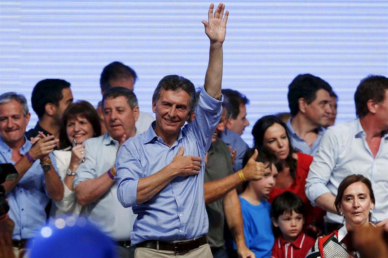 Gana Macri con el 51,5% de los votos