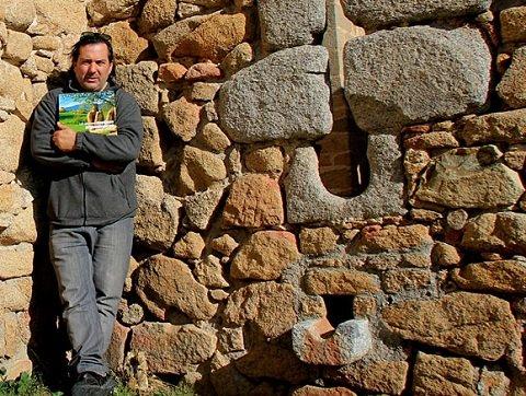 Pepo Paz, en uno de sus destinos arqueológicos