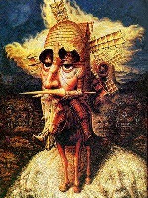 Estaba loco Don Quijote?