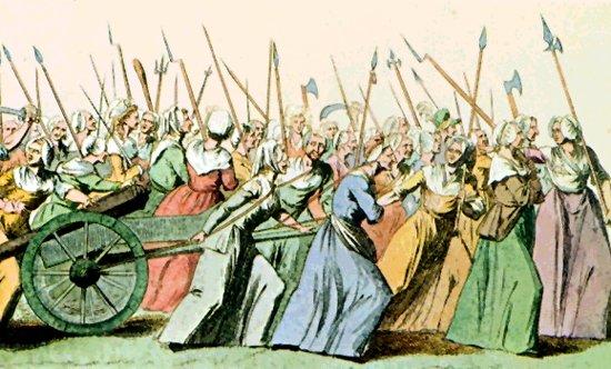 Resultado de imagen de mujeres en la revolución francesa