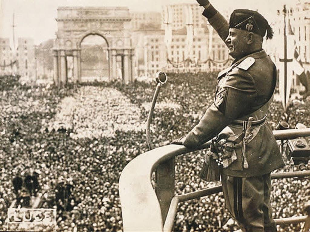 La represión fascista italiana