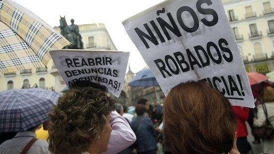 Manifestación por los bebés robados. (Imagen de archivo)