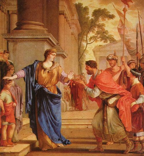 Matrimonio En El Imperio Romano : Cornélia la africana la matrona romana