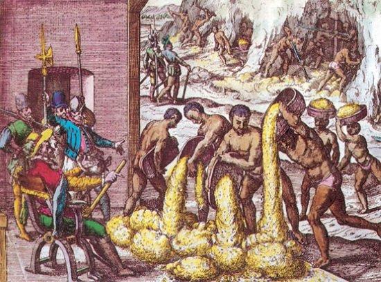 La Encomienda La Explotación De Los Indios