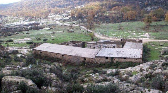 Instalaciones del campo franquista de Bustarviejo