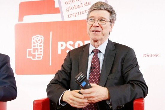 Jeffrey Sachs. (Foto: Flickr PSOE)