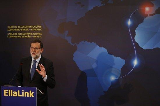 Rajoy en Brasil: (Foto: Diego Crespo. La Moncloa)