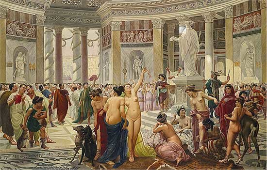 Matrimonio En El Imperio Romano : La sexualidad romana