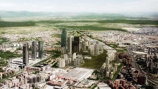 Madrid nuevo norte un manhattan de capital ficticio for Oficinas del inss en madrid capital