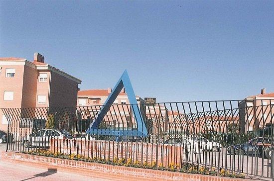 triangulo azul