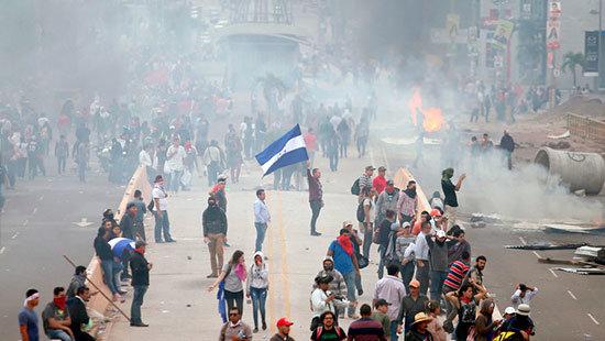 Golpe electoral en la república bananera de Honduras