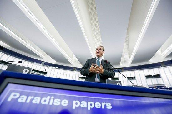 Debate en el Parlamento Europeo sobre los llamados 'papeles del paraíso'. (Imagen: Flickr PE)