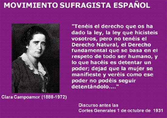 Clara Campoamor Gracias