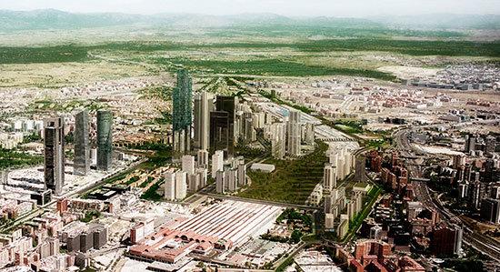 El Centro De Negocios De Chamartin Una Bomba Contra La Ciudad De