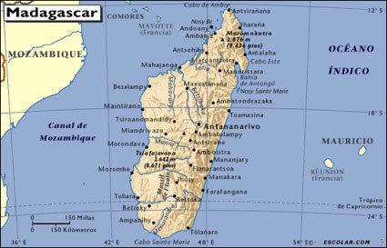 Isla De Madagascar Mapa.Madagascar Gente Y Paisaje