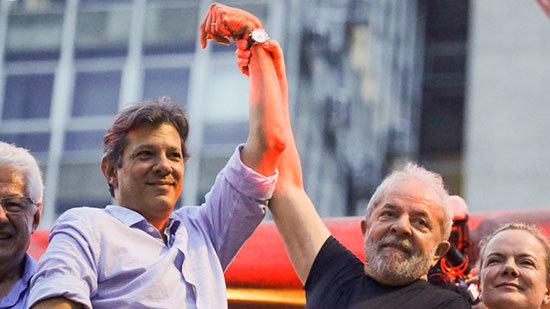 A partir de hoy, Haddad será Lula para miles de brasileños