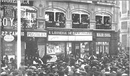 Cuando pablo iglesias fue acusado del crimen de canalejas for Libreria puerta del sol