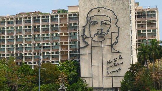 Monumento Che Guevara en La Habana.