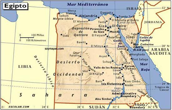 Egipto Un Mundo De Contradicciones