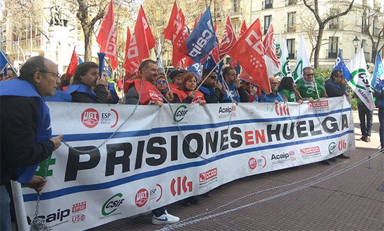 Foto: Twitter @CCOO_Prisiones