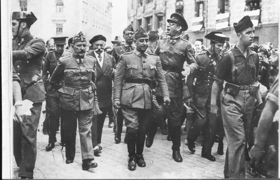 Julio de 1936 preparando el golpe