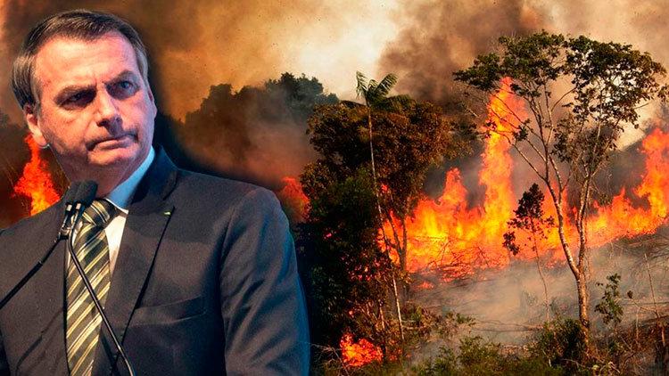 Arde el Amazonas, ríe Nerón
