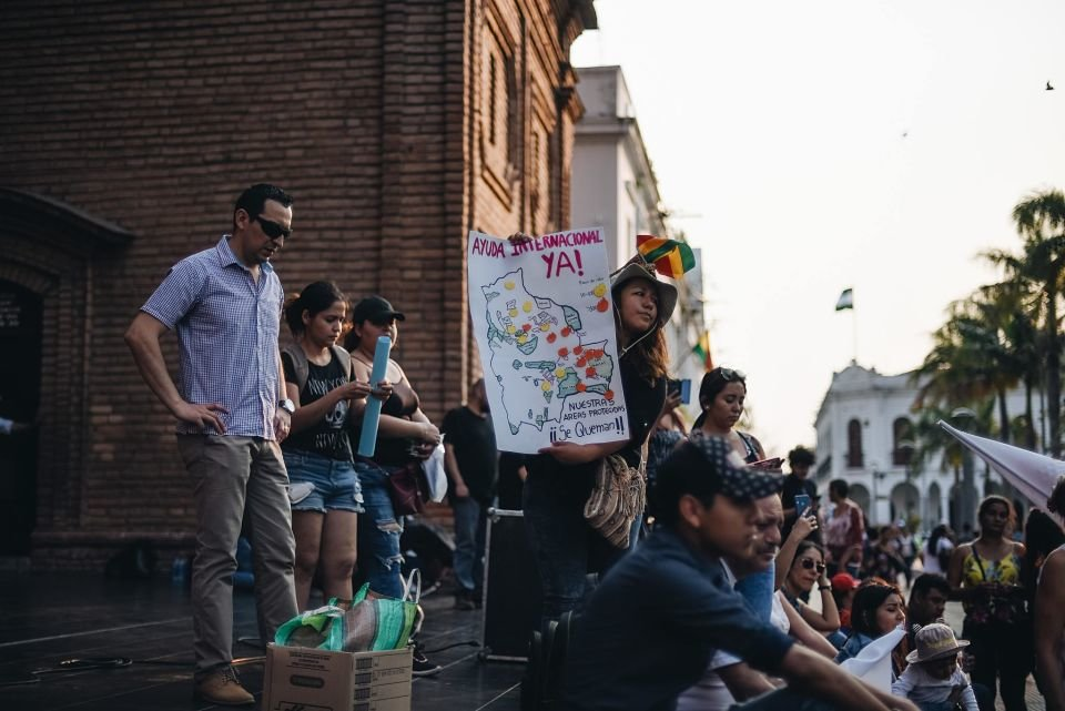 No solo arde Brasil: los incendios en Bolivia amenazan a la