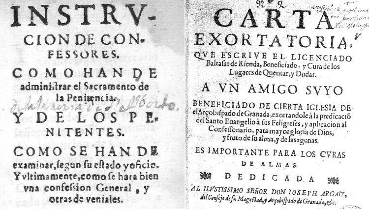 Una investigación señala a los manuales de confesión de la Iglesia de los siglos XVI y XVII como el germen de la violencia machista