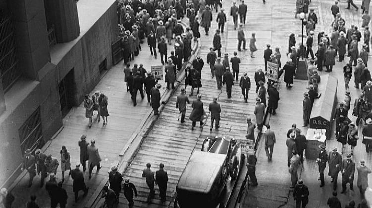 Del Crac a la Gran Depresión