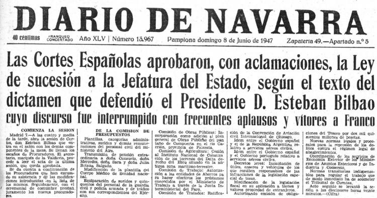 diario navarra 8 junio 1947