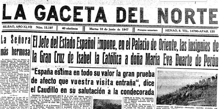 gaceta norte 10 junio 1947