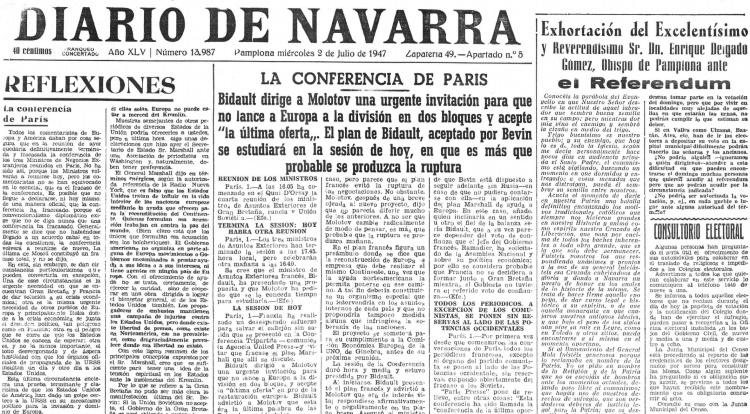 diario navarra 2 julio 1947
