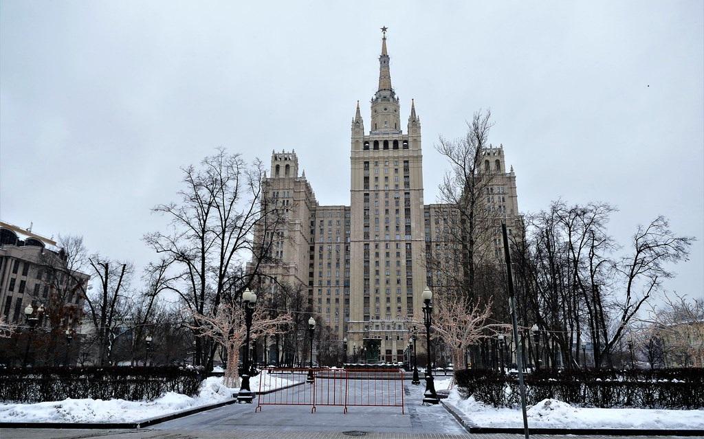 Edificio plaza Kudrinskaya